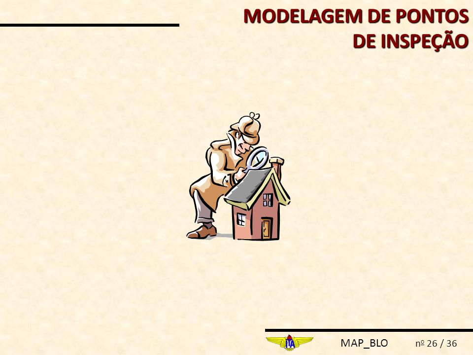 MODELAGEM DE PONTOS DE INSPEÇÃO