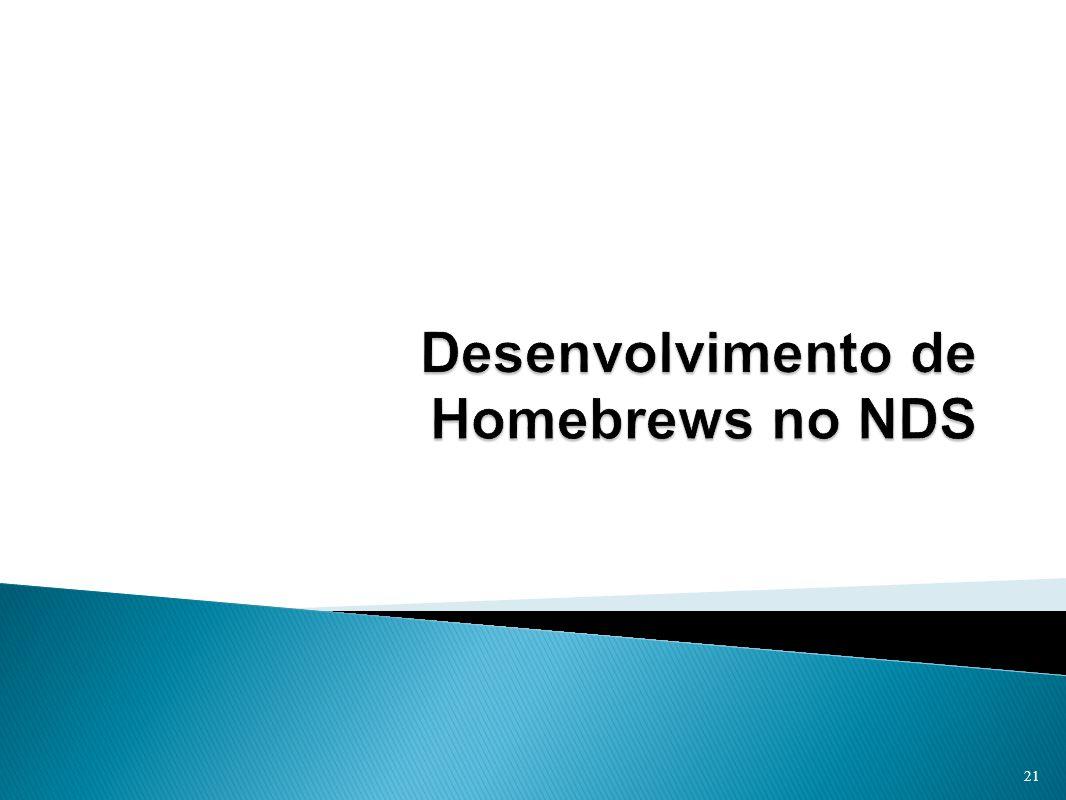 Desenvolvimento de Homebrews no NDS