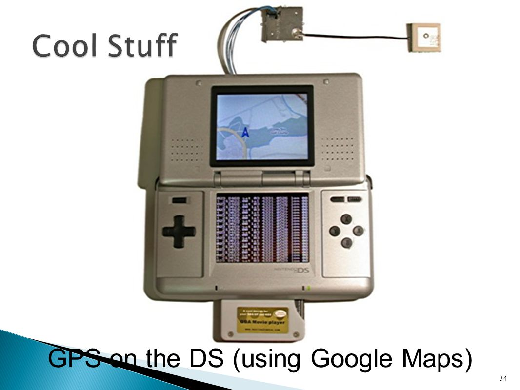 GPS on the DS (using Google Maps)