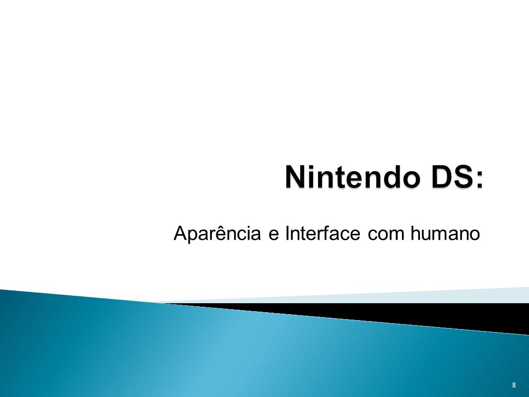 Aparência e Interface com humano