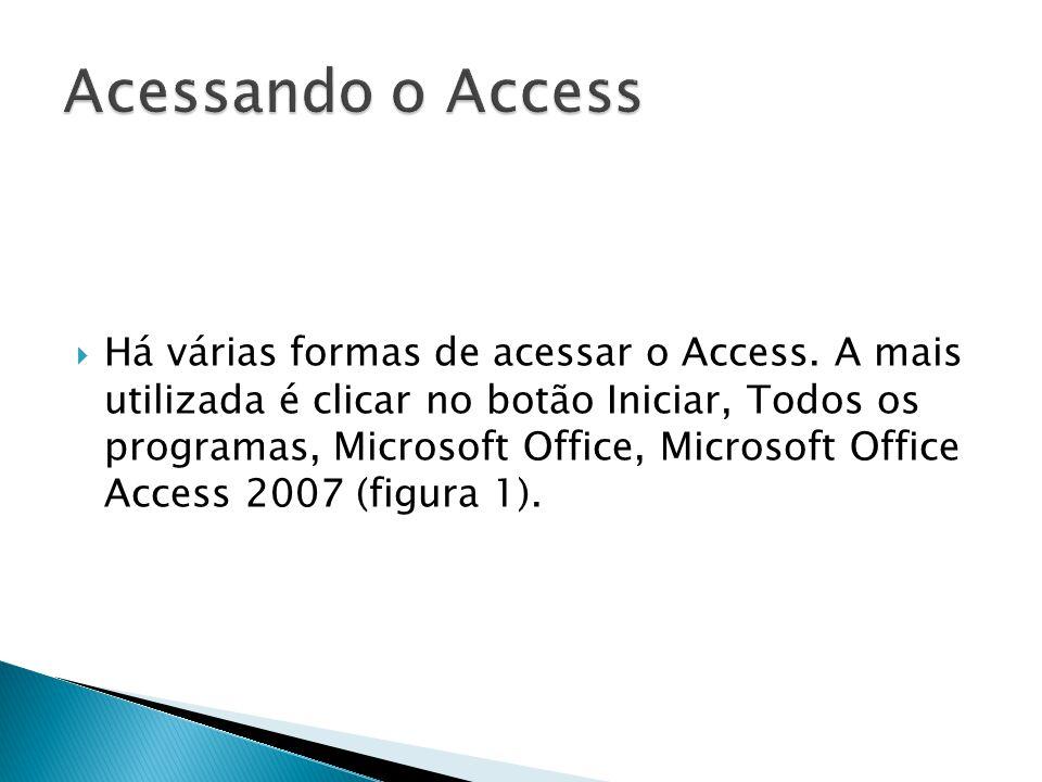 Acessando o Access
