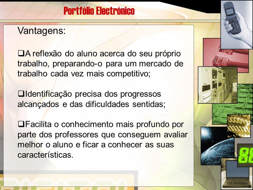 Portfólio Electrónico