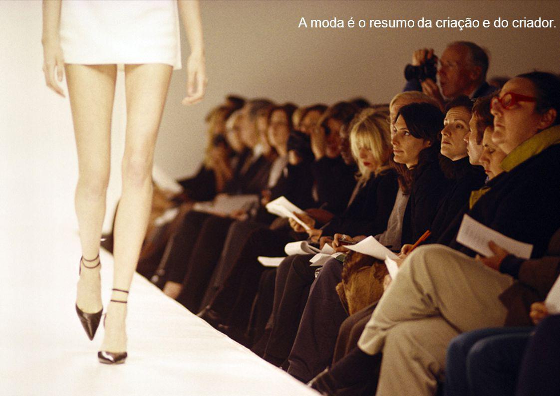 A moda é o resumo da criação e do criador.