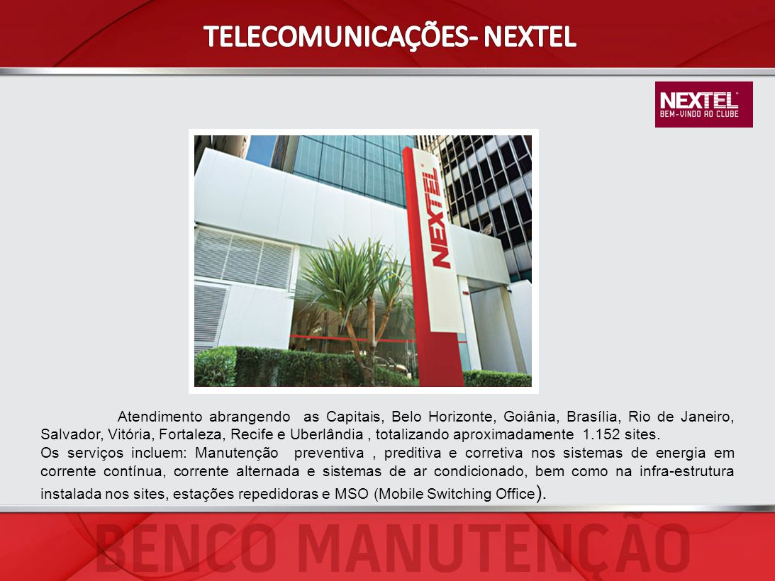 TELECOMUNICAÇÕES- NEXTEL