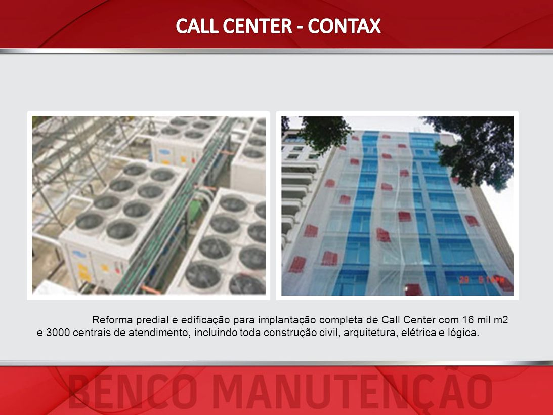 CALL CENTER - CONTAX