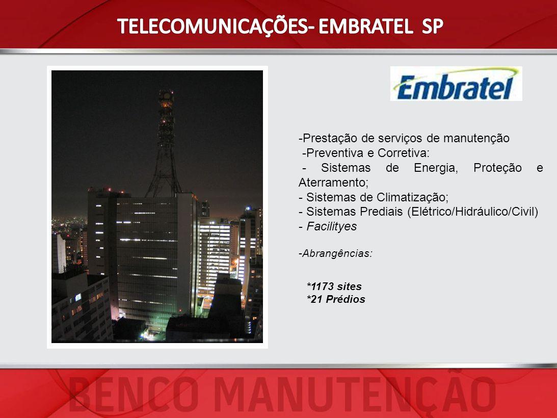 TELECOMUNICAÇÕES- EMBRATEL SP