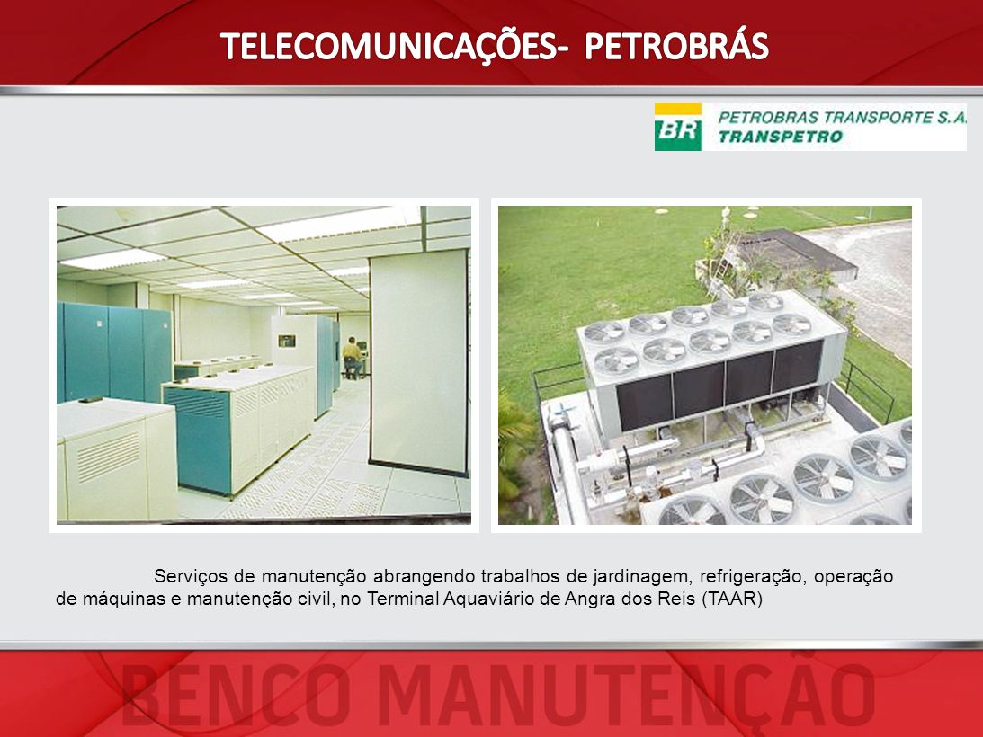 TELECOMUNICAÇÕES- PETROBRÁS