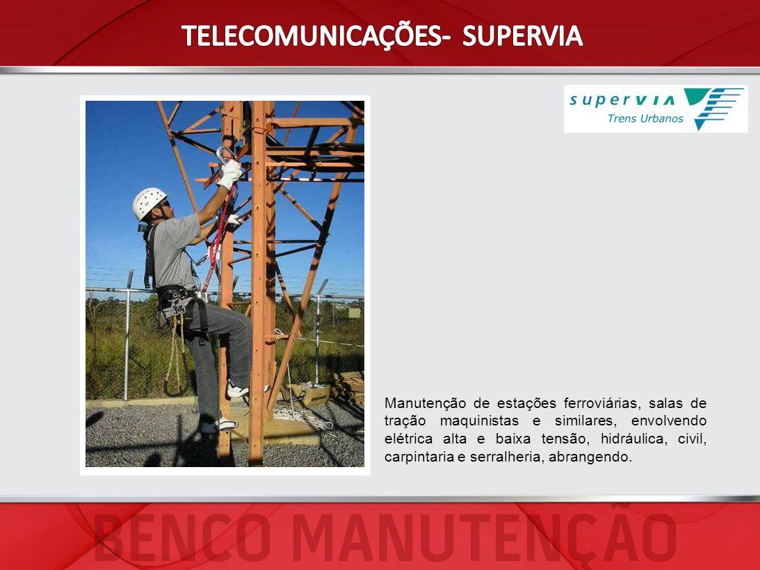 TELECOMUNICAÇÕES- SUPERVIA