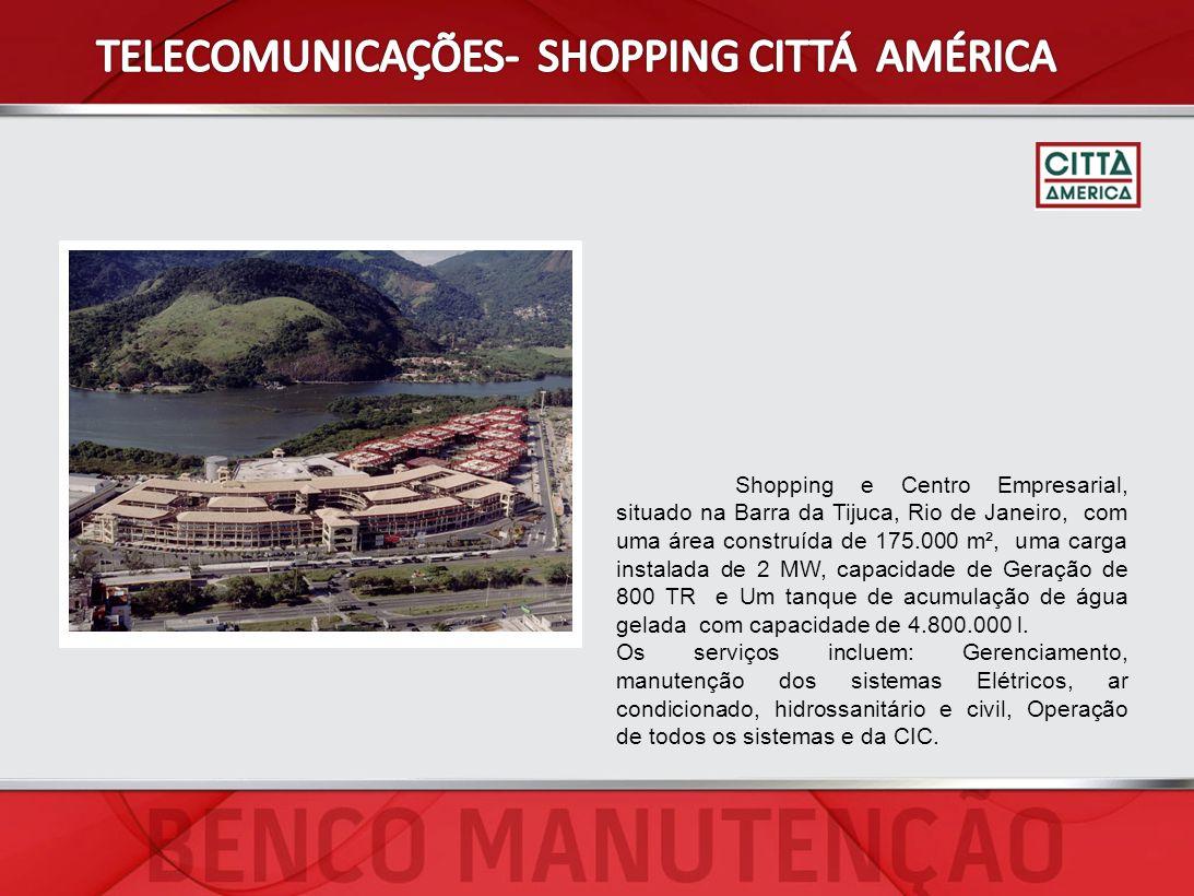 TELECOMUNICAÇÕES- SHOPPING CITTÁ AMÉRICA