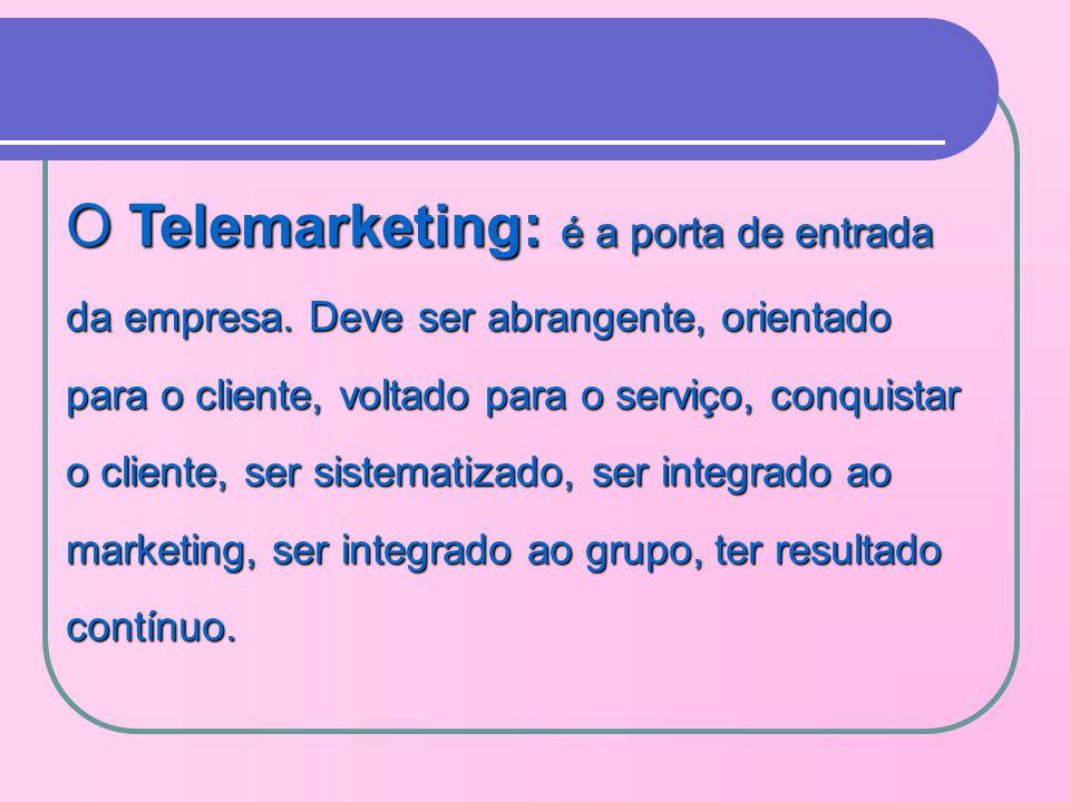 O Telemarketing: é a porta de entrada da empresa