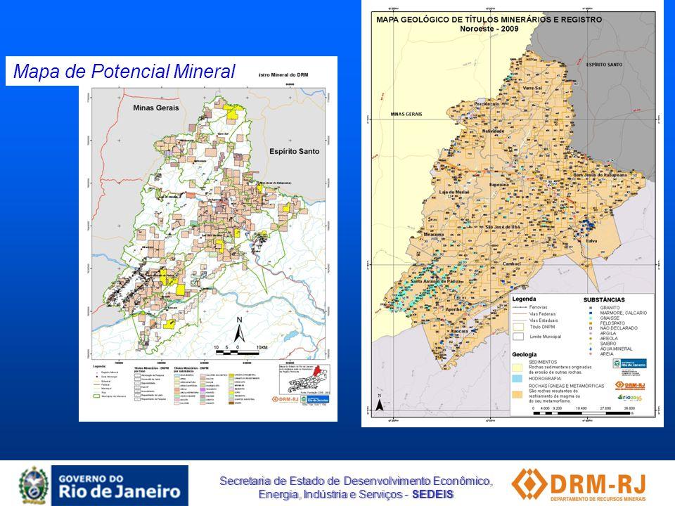Mapa de Potencial Mineral