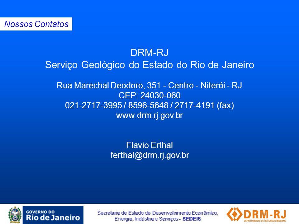 Serviço Geológico do Estado do Rio de Janeiro