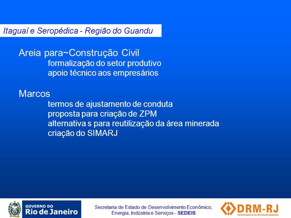 Areia para~Construção Civil