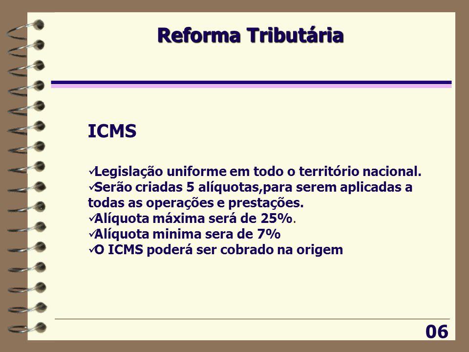 Reforma Tributária ICMS 06