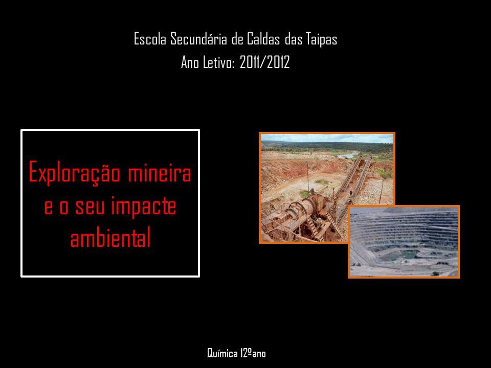Exploração mineira e o seu impacte ambiental