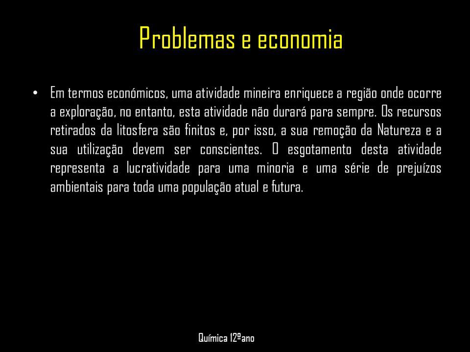 Problemas e economia