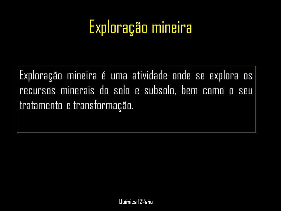 Exploração mineira