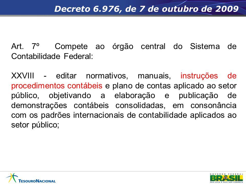 Decreto 6.976, de 7 de outubro de 2009