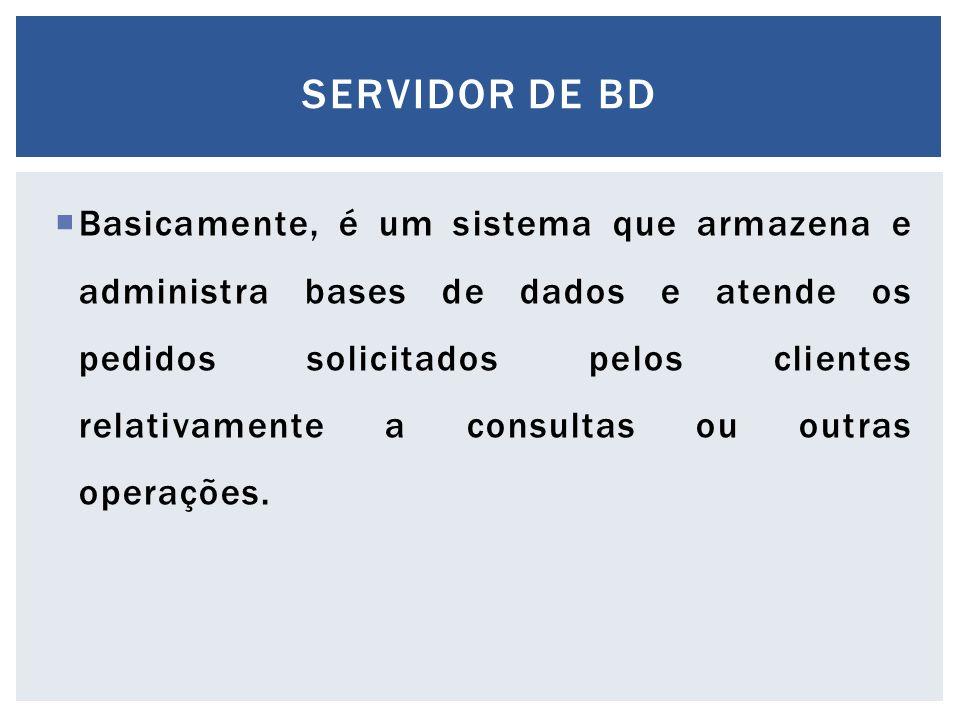 Servidor de bd