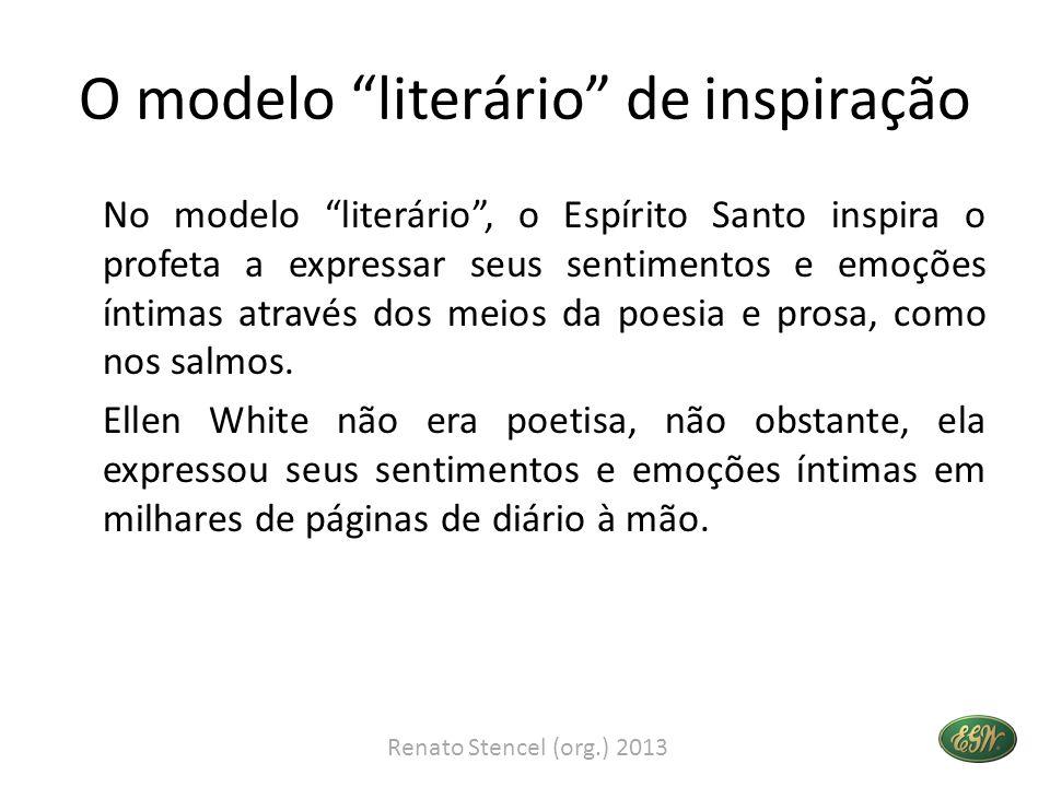 O modelo literário de inspiração