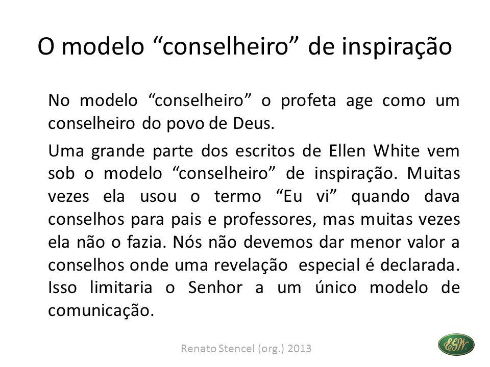 O modelo conselheiro de inspiração
