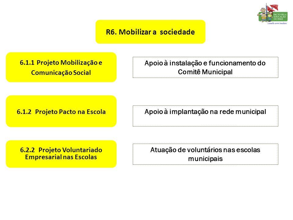 R6. Mobilizar a sociedade