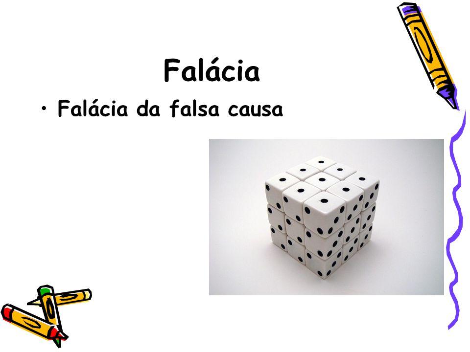Falácia Falácia da falsa causa