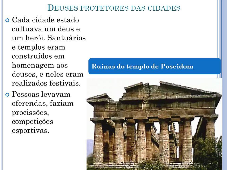 Deuses protetores das cidades