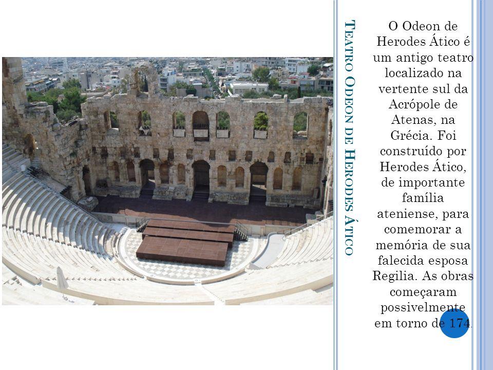 Teatro Odeon de Herodes Ático