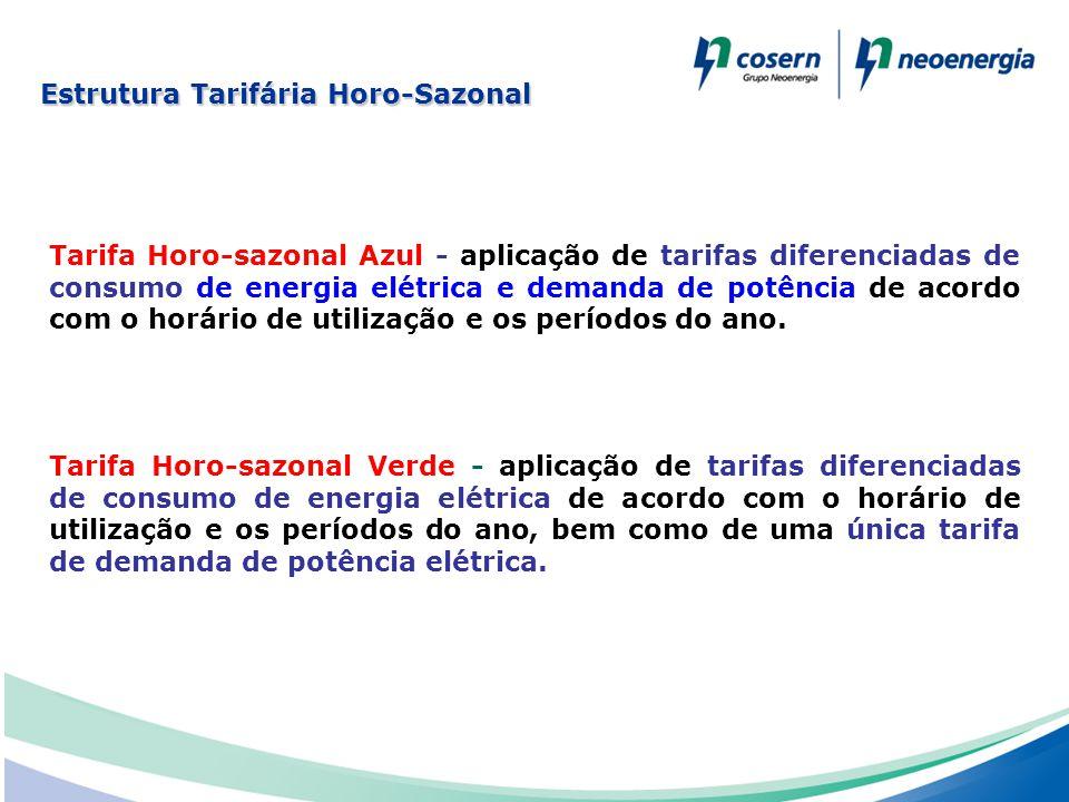 Estrutura Tarifária Horo-Sazonal