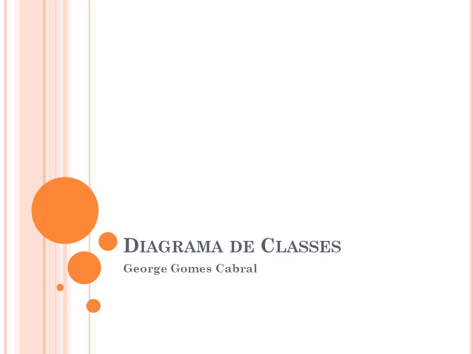 Diagrama de Classes George Gomes Cabral