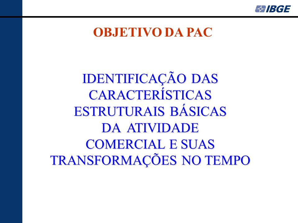 IDENTIFICAÇÃO DAS CARACTERÍSTICAS ESTRUTURAIS BÁSICAS DA ATIVIDADE