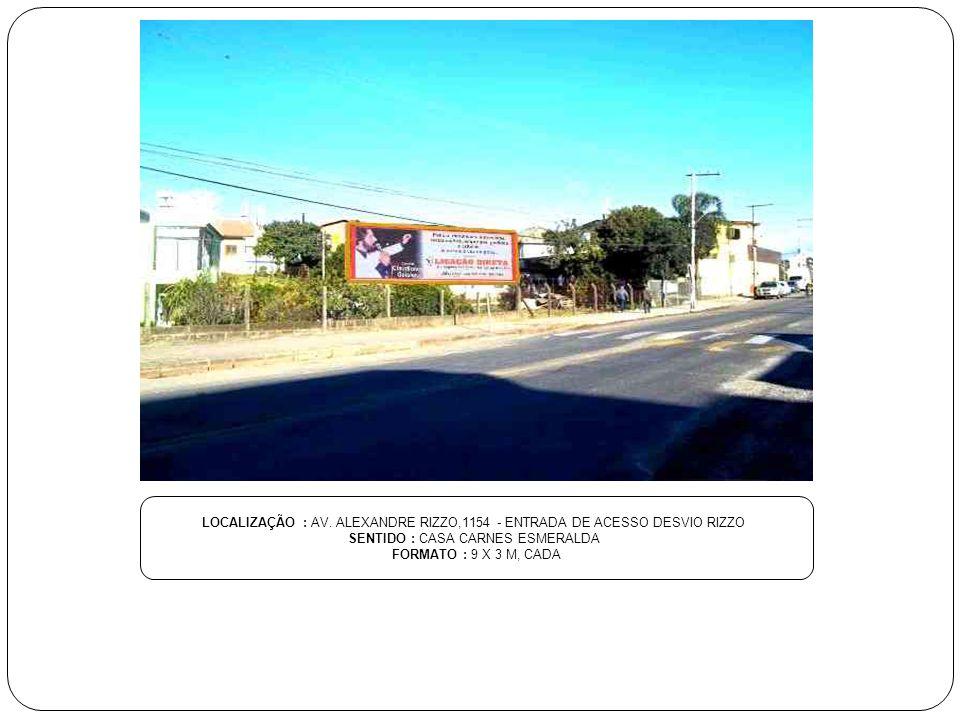 SENTIDO : CASA CARNES ESMERALDA