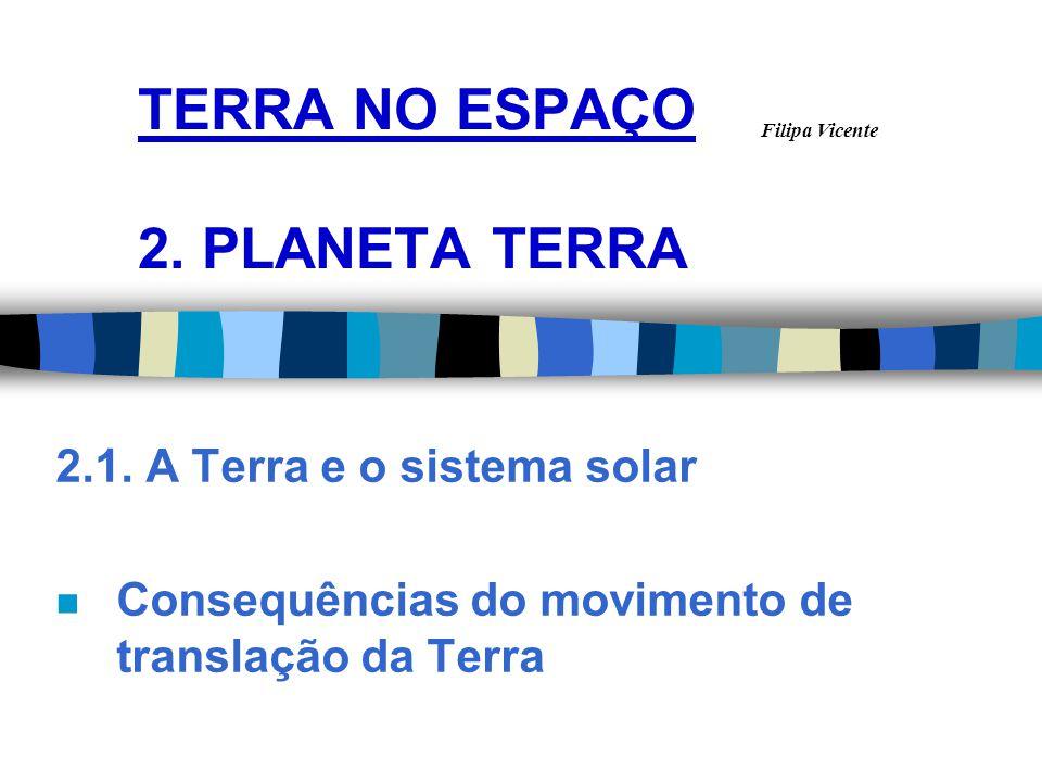 TERRA NO ESPAÇO 2. PLANETA TERRA