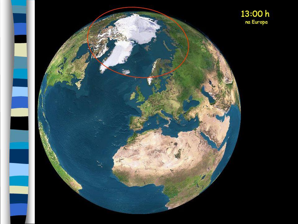 13:00 h na Europa