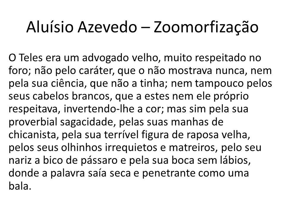 Aluísio Azevedo – Zoomorfização