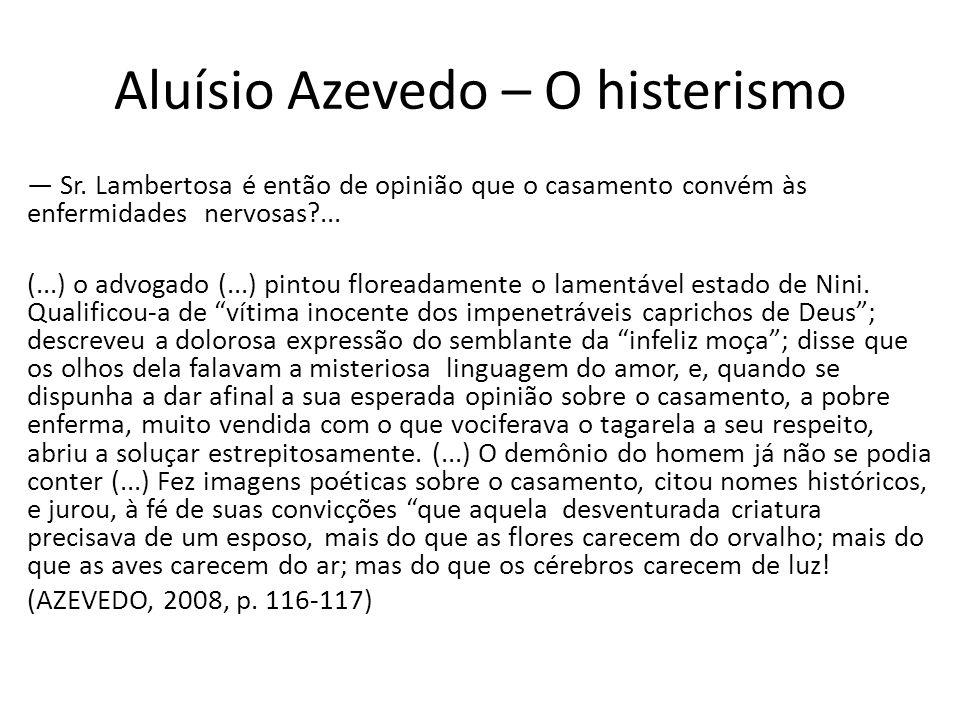 Aluísio Azevedo – O histerismo