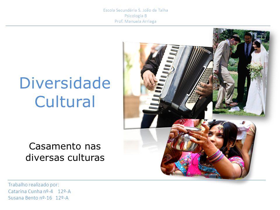 Diversidade Cultural Casamento nas diversas culturas