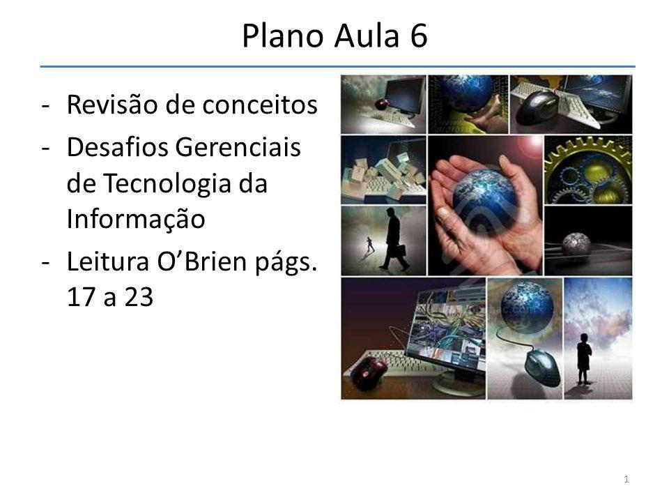 Plano Aula 6 Revisão de conceitos