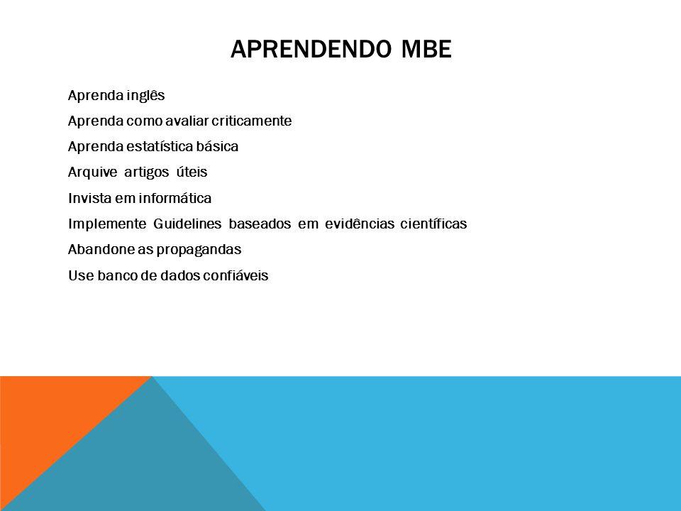 APRENDENDO MBE