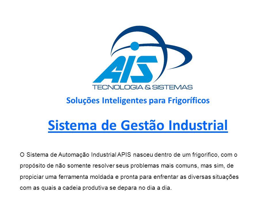 Soluções Inteligentes para Frigoríficos Sistema de Gestão Industrial
