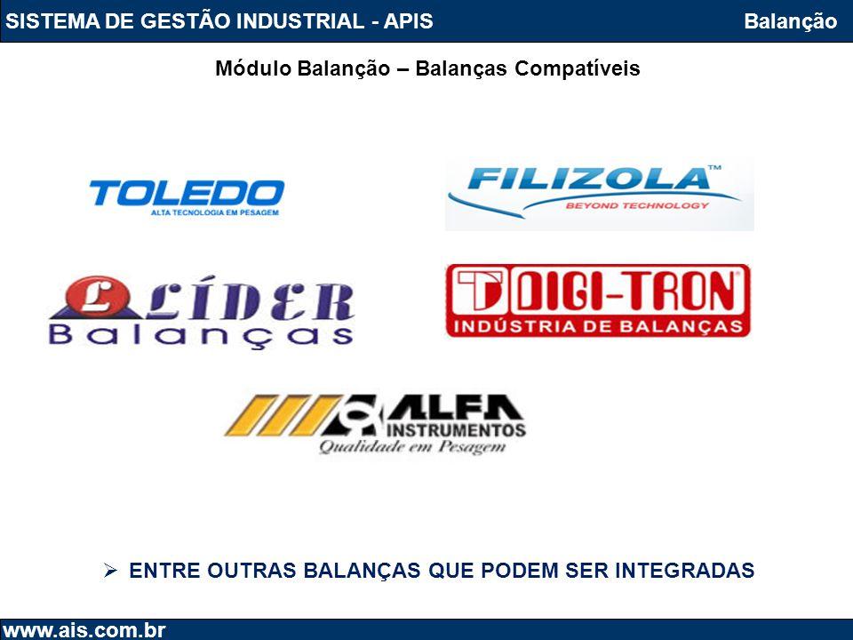 SISTEMA DE GESTÃO INDUSTRIAL - APIS Balanção