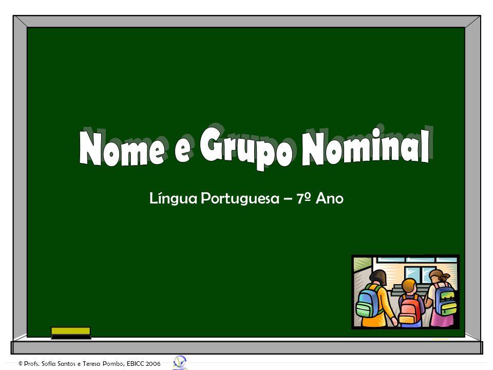 Língua Portuguesa – 7º Ano