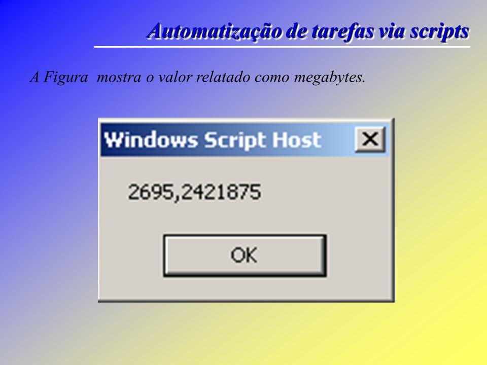 Automatização de tarefas via scripts