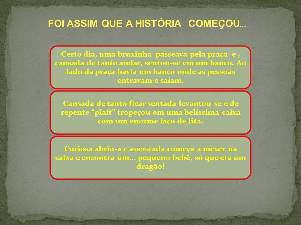 FOI ASSIM QUE A HISTÓRIA COMEÇOU...