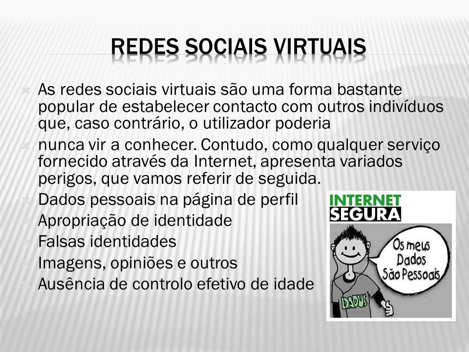 REDES SOCIAIS VIRTUAIS