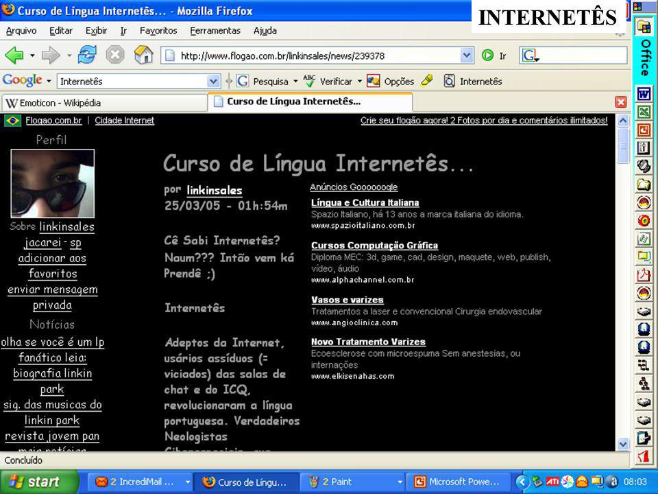 INTERNETÊS