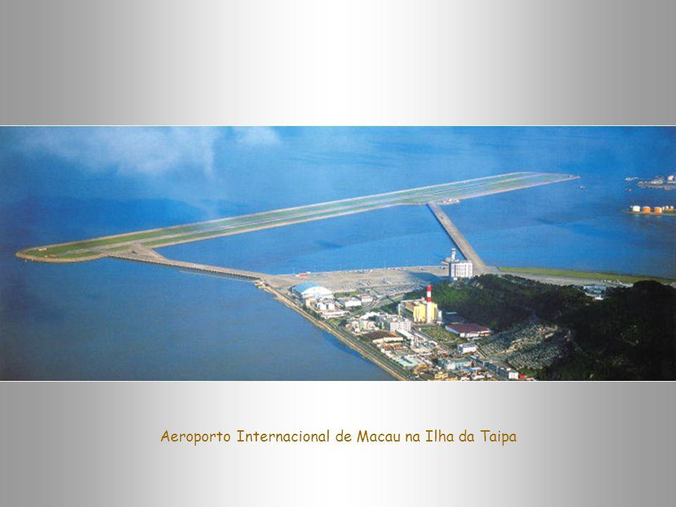 Aeroporto Internacional de Macau na Ilha da Taipa