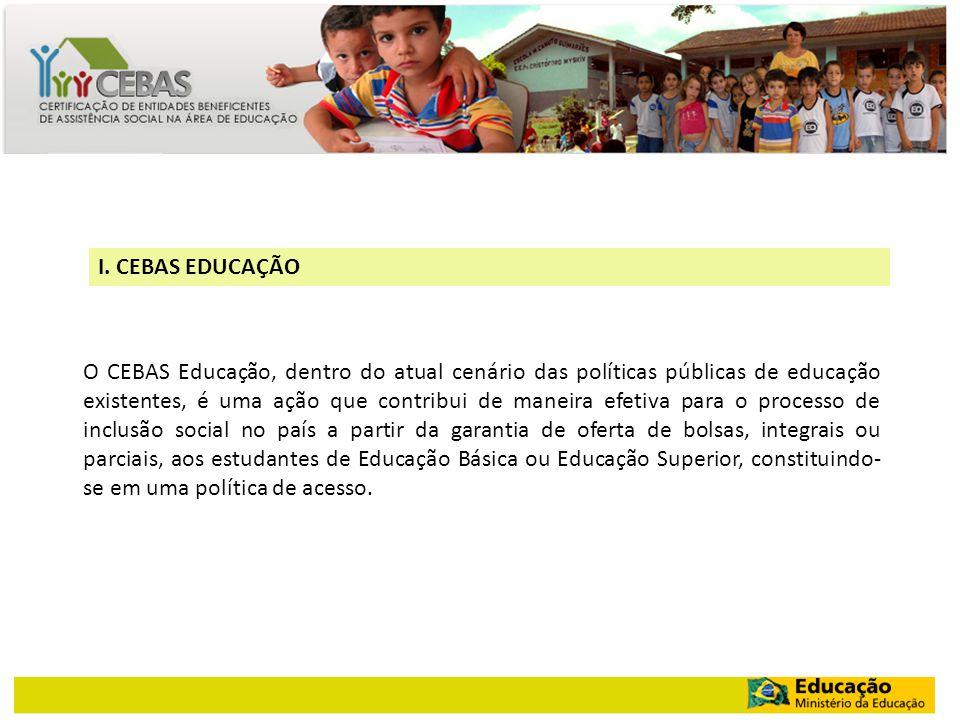 I. CEBAS EDUCAÇÃO