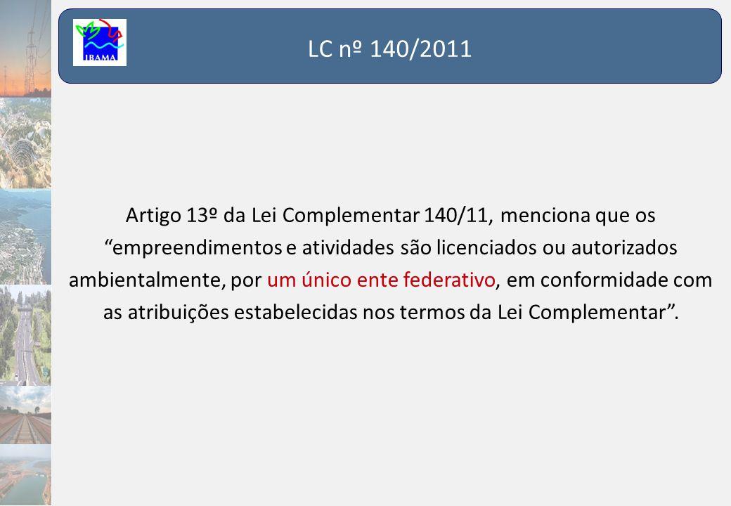 LC nº 140/2011